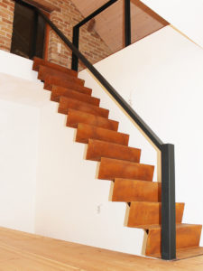Treppe, Rost